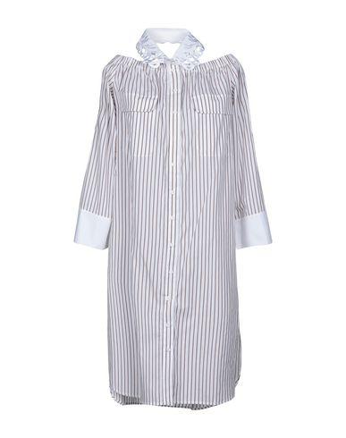 Фото - Платье до колена от ISABELLE BLANCHE Paris белого цвета