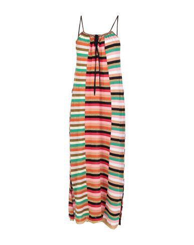 Купить Платье длиной 3/4 красного цвета