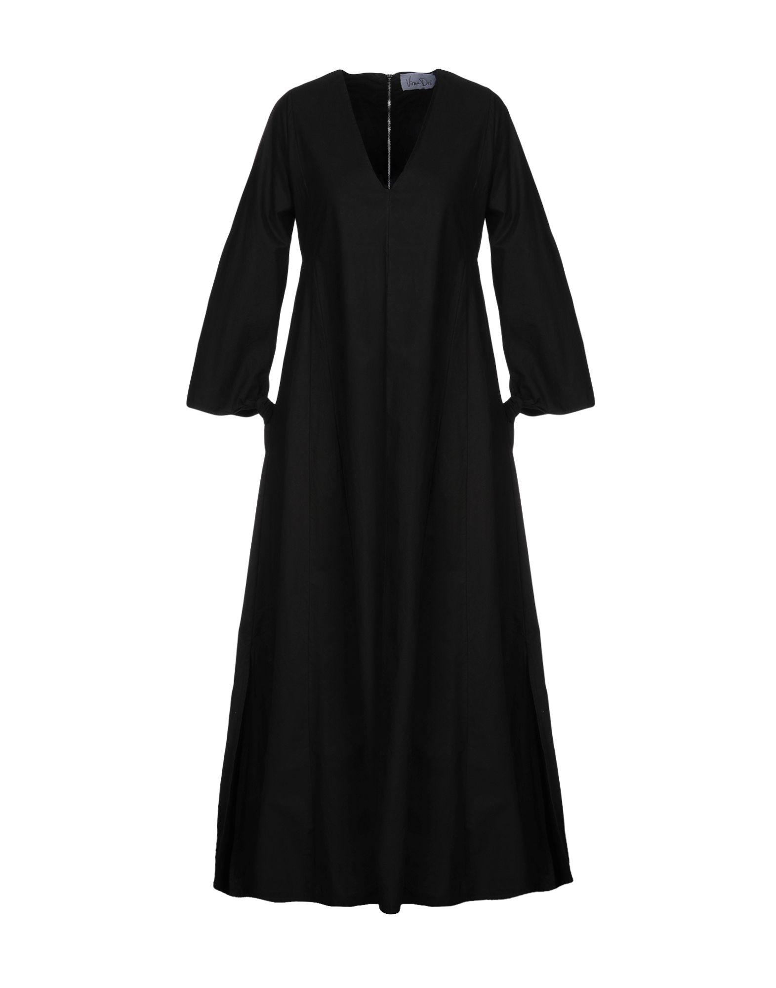 VIRNA DRÒ® Длинное платье недорго, оригинальная цена