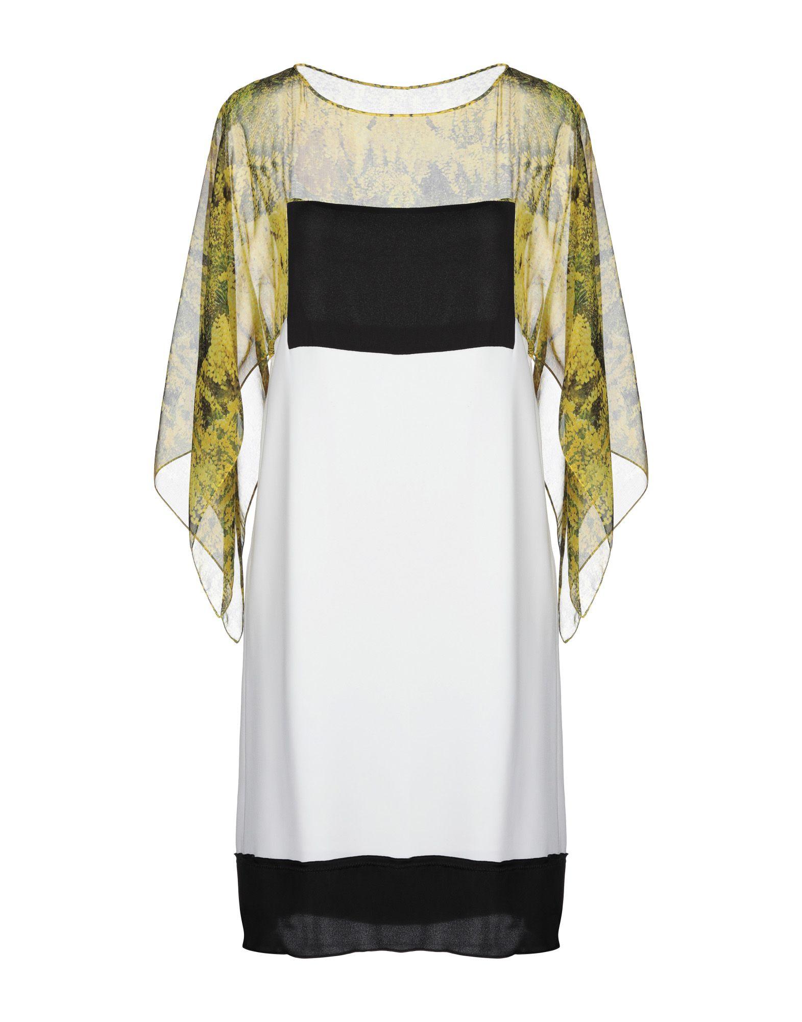 VIONNET Короткое платье vionnet платье длиной 3 4