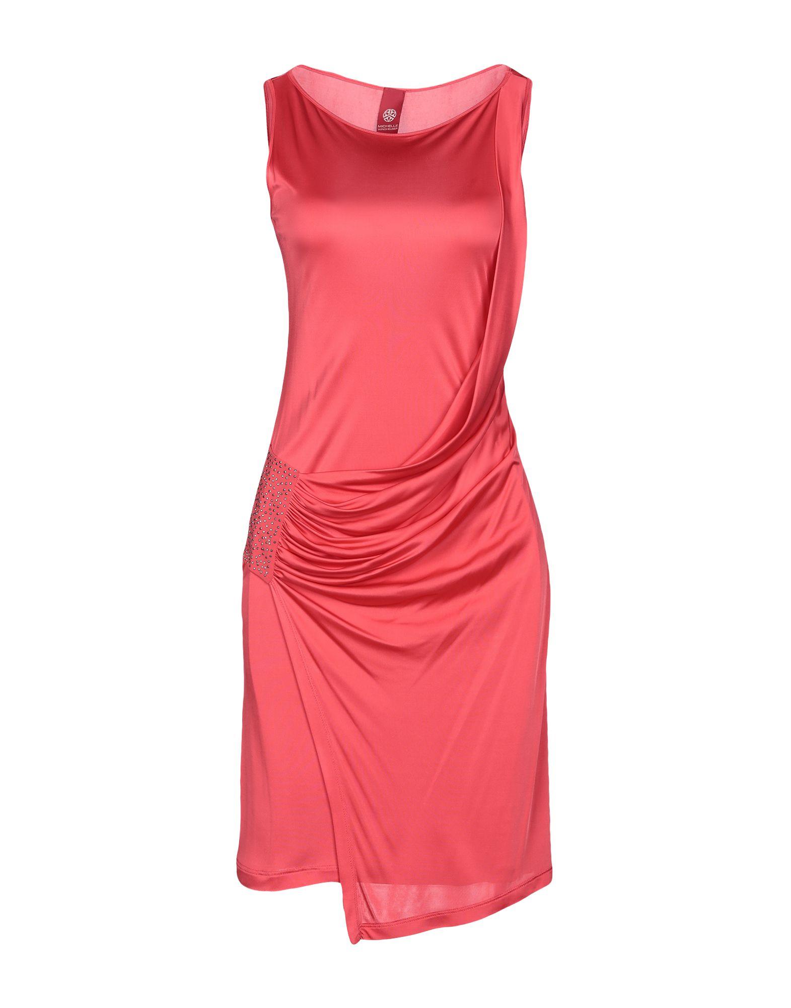 MICHELLE WINDHEUSER Короткое платье цена 2017
