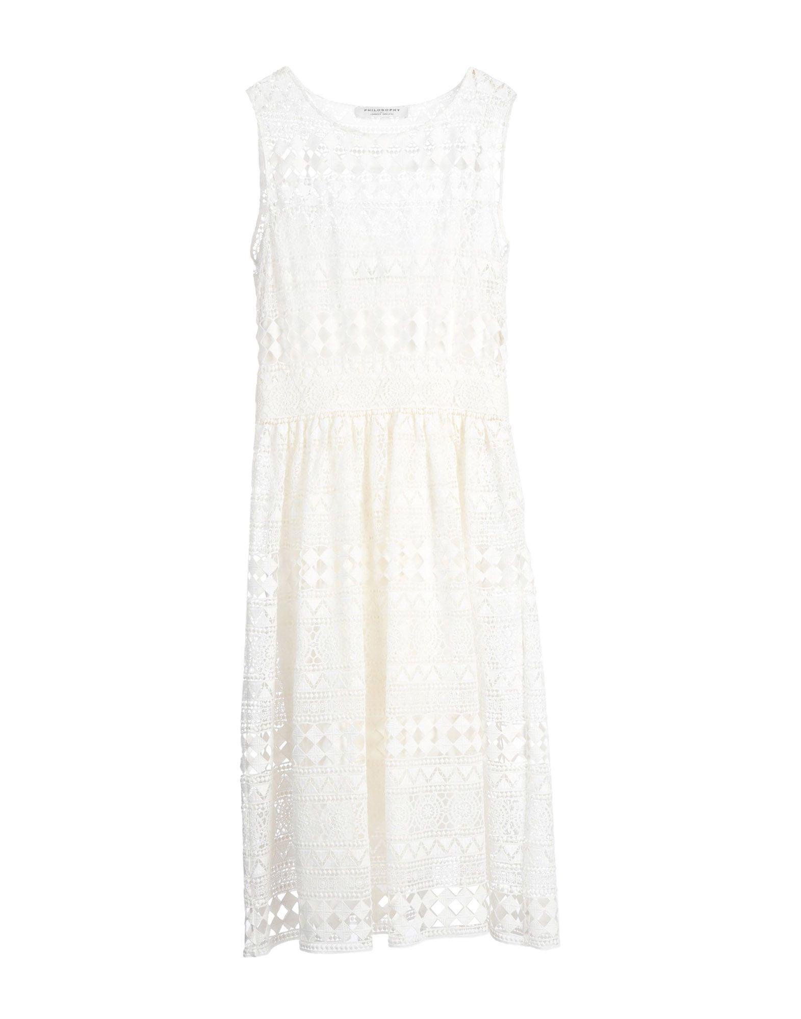 PHILOSOPHY di ALBERTA FERRETTI Платье длиной 3/4 платье af philosophy di a ferretti платья и сарафаны приталенные