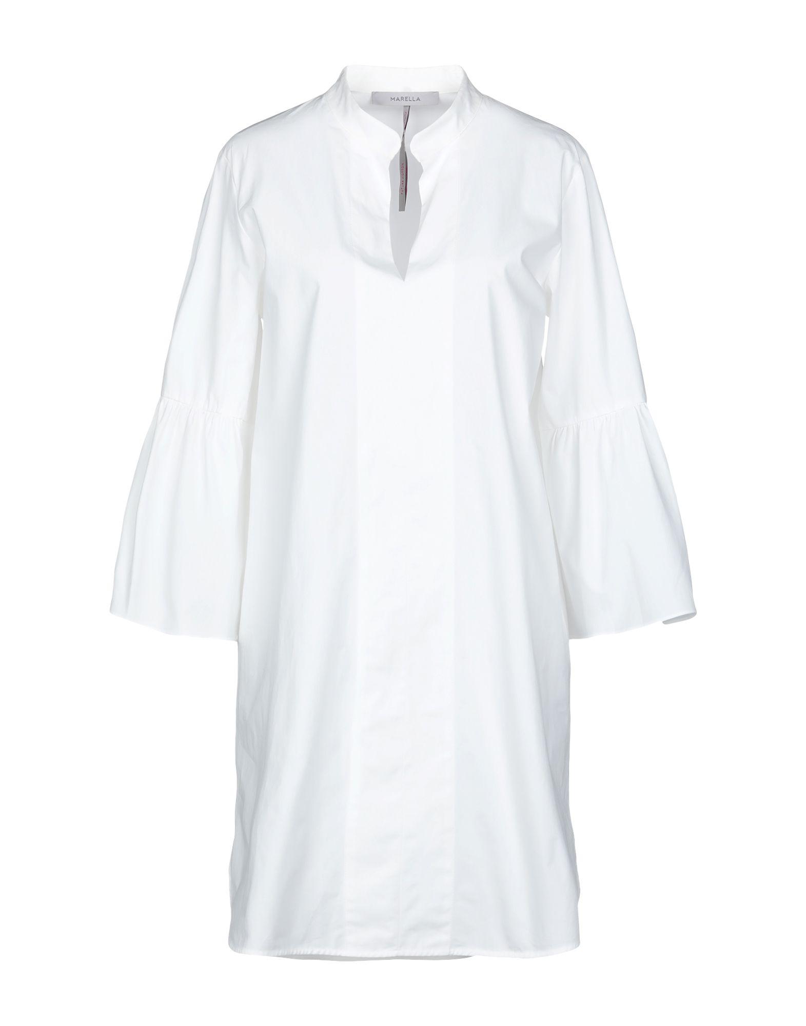 MARELLA Короткое платье платье рубашка fox yulia sway платье рубашка fox