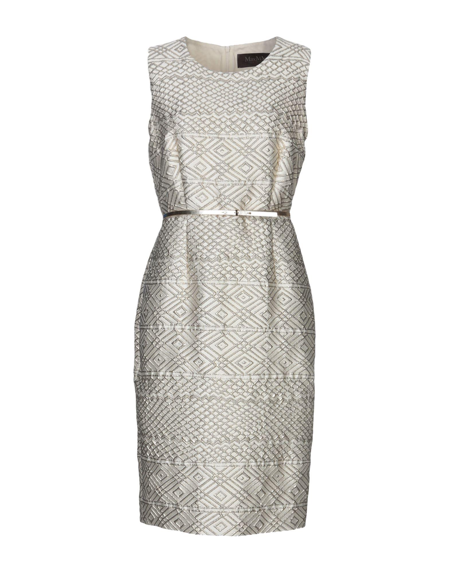 MAX MARA Платье до колена юбка карандаш с потайной молнией max mara studio
