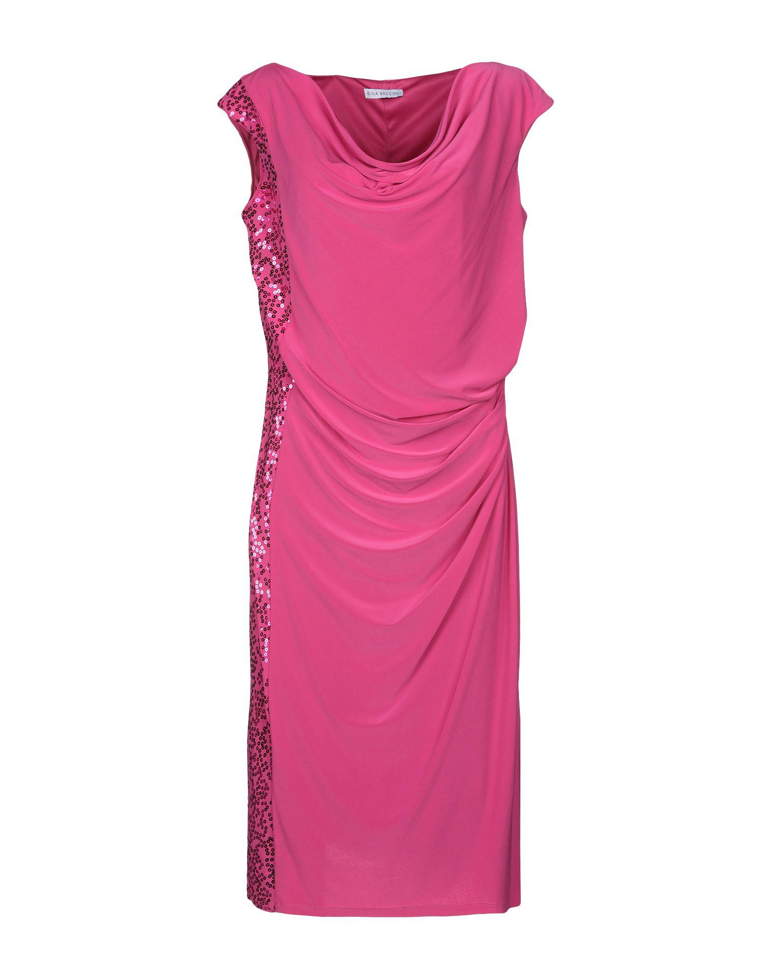 GINA BACCONI Платье до колена trousers gina bacconi брюки стрейч