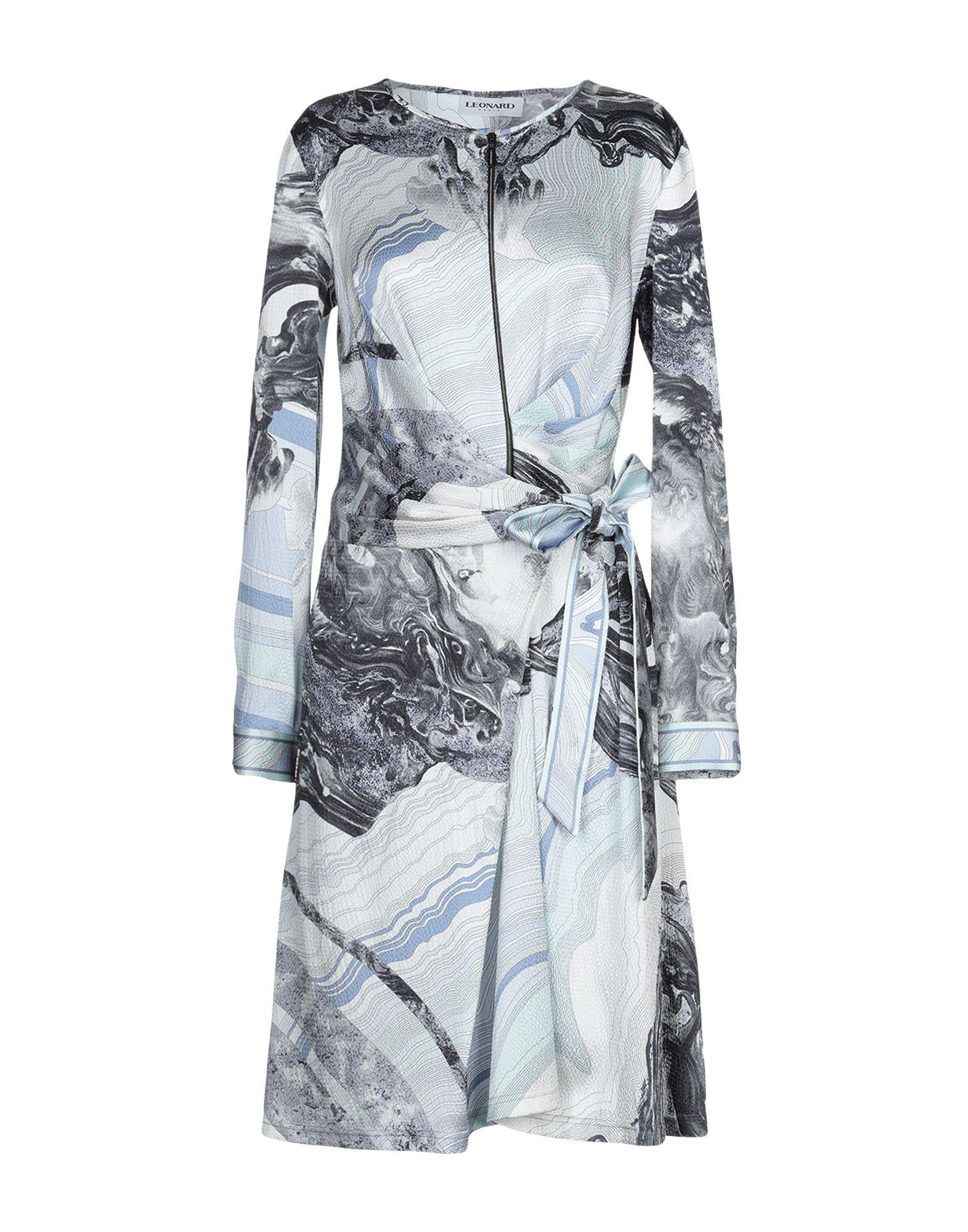 LEONARD Paris Платье до колена leonard paris короткое платье