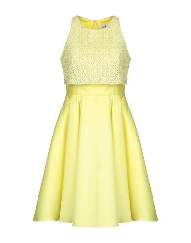 Купить Платье до колена желтого цвета