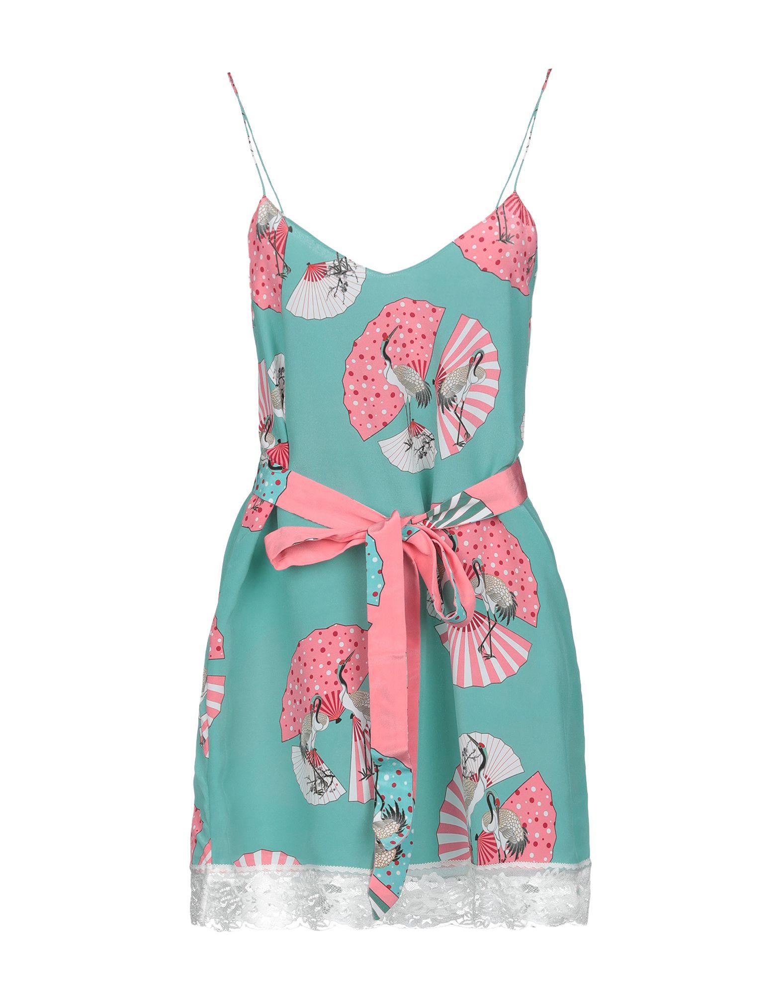 RACIL Короткое платье платье без рукавов с кружевной вставкой на спинке