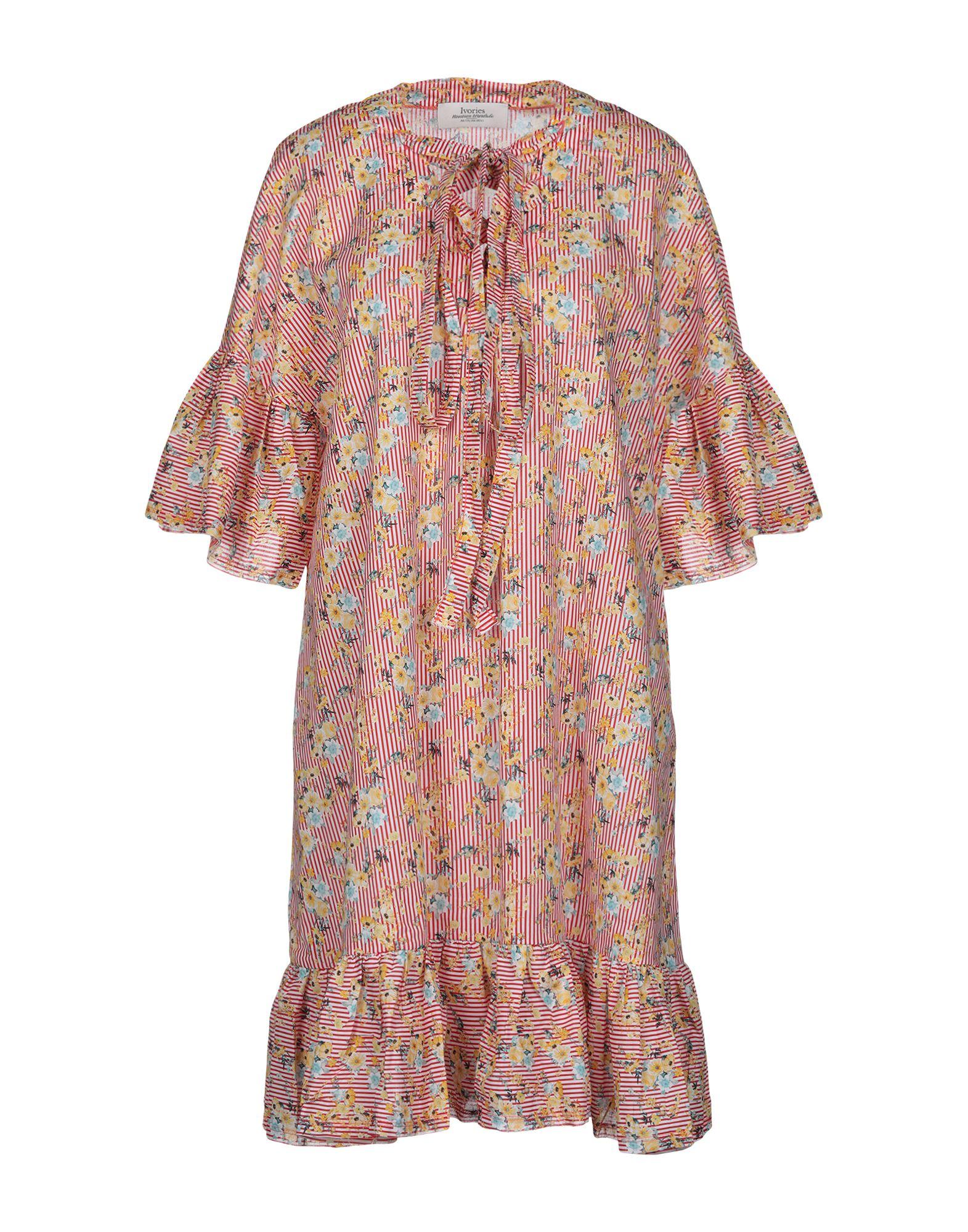 IVORIES Короткое платье ivories повседневные брюки
