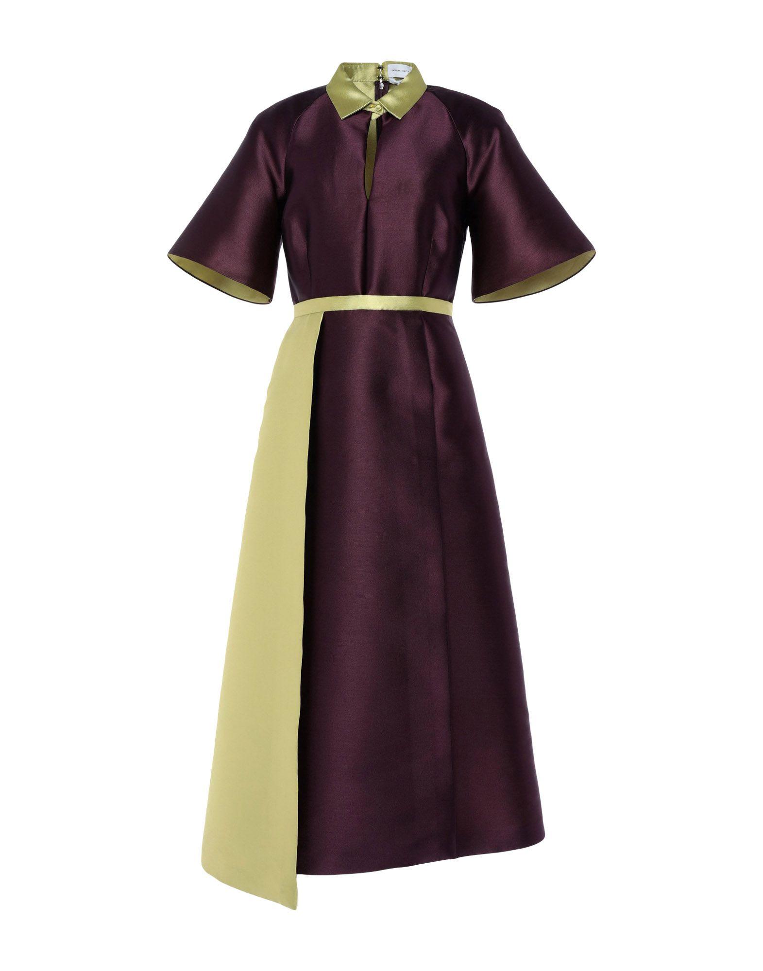 CATERINA GATTA Платье длиной 3/4 ботильоны la gatta