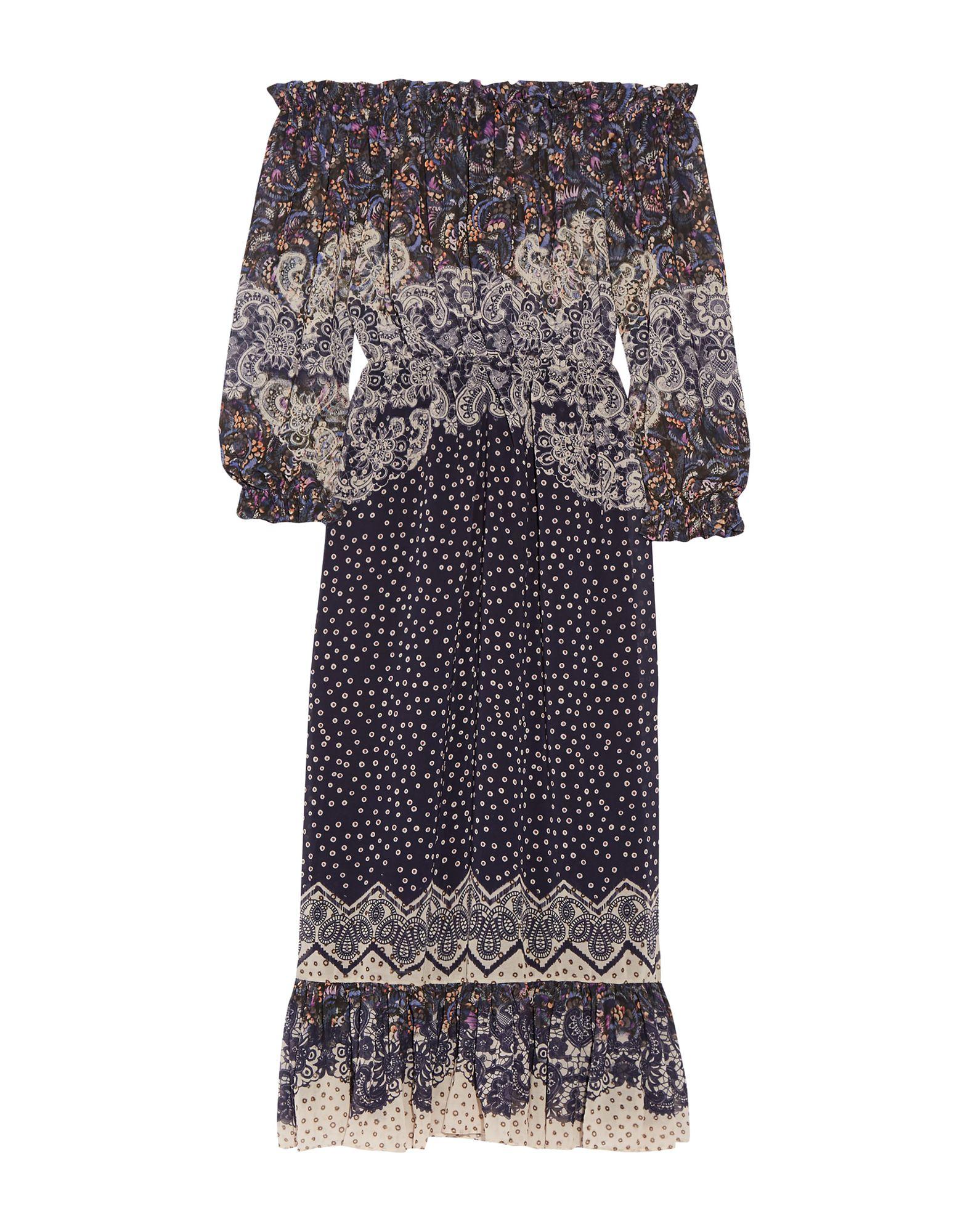 Фото - SALONI Платье длиной 3/4 платье комбинезон в горошек 1 мес 3 года