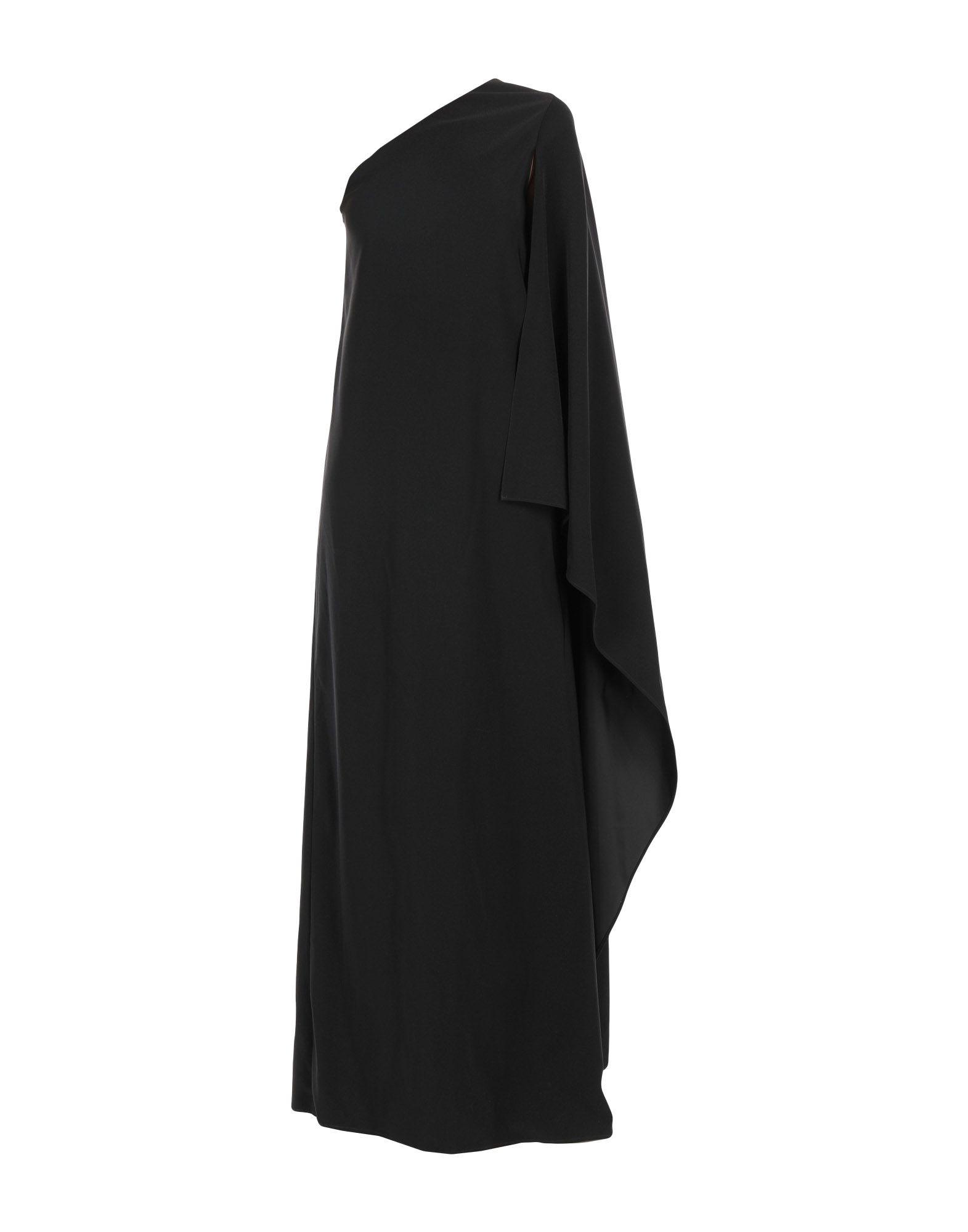 ROSETTA GETTY Длинное платье 923 зима полный дрель бархат вечернее платье длинное плечо банкет тост одежды тонкий тонкий хост
