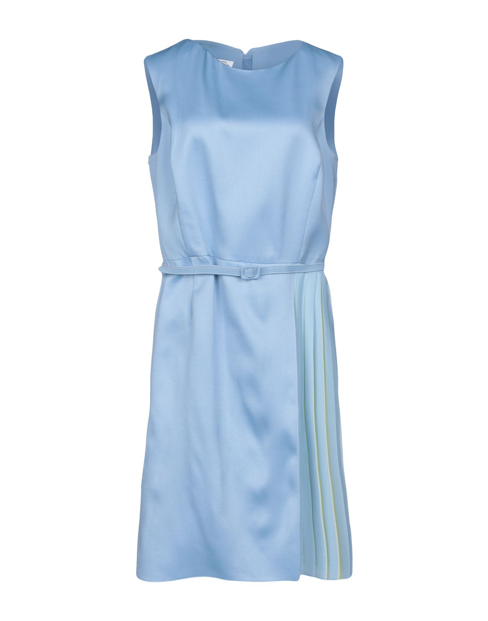 OSCAR DE LA RENTA Платье до колена цена 2017