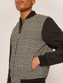 ARMANI EXCHANGE HOUNDSTOOTH PRINT BOMBER JACKET Jacket Man b