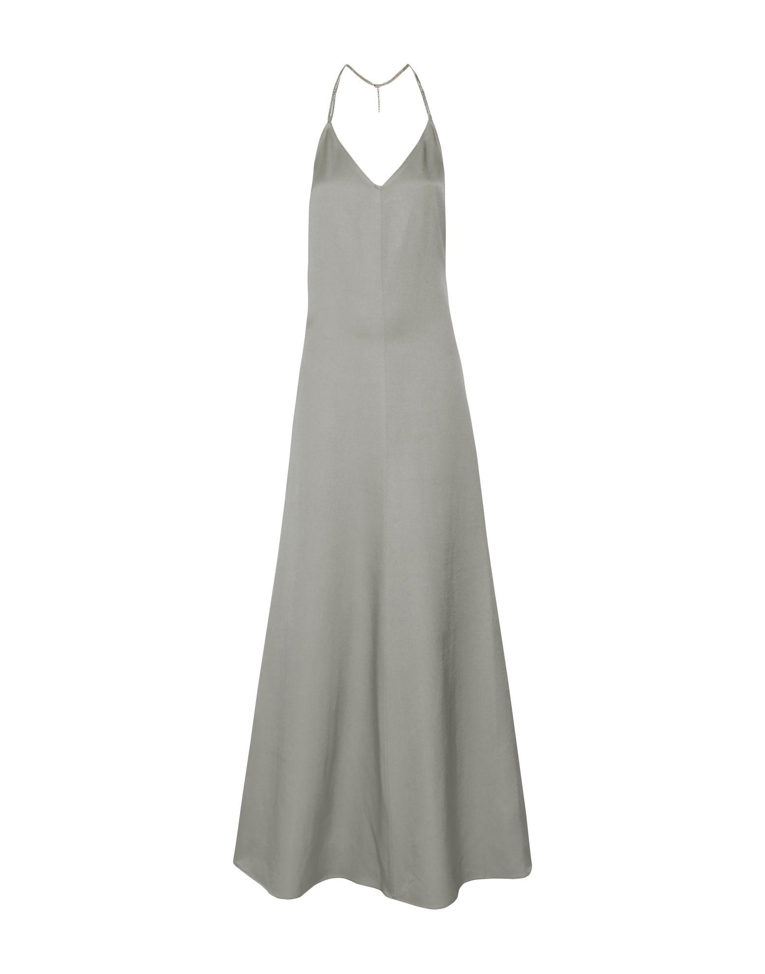 CASASOLA Long Dresses in Light Grey