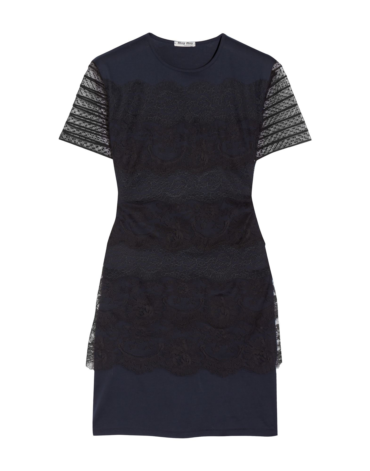 MIU MIU Короткое платье casio часы casio mtp e133l 2e коллекция analog