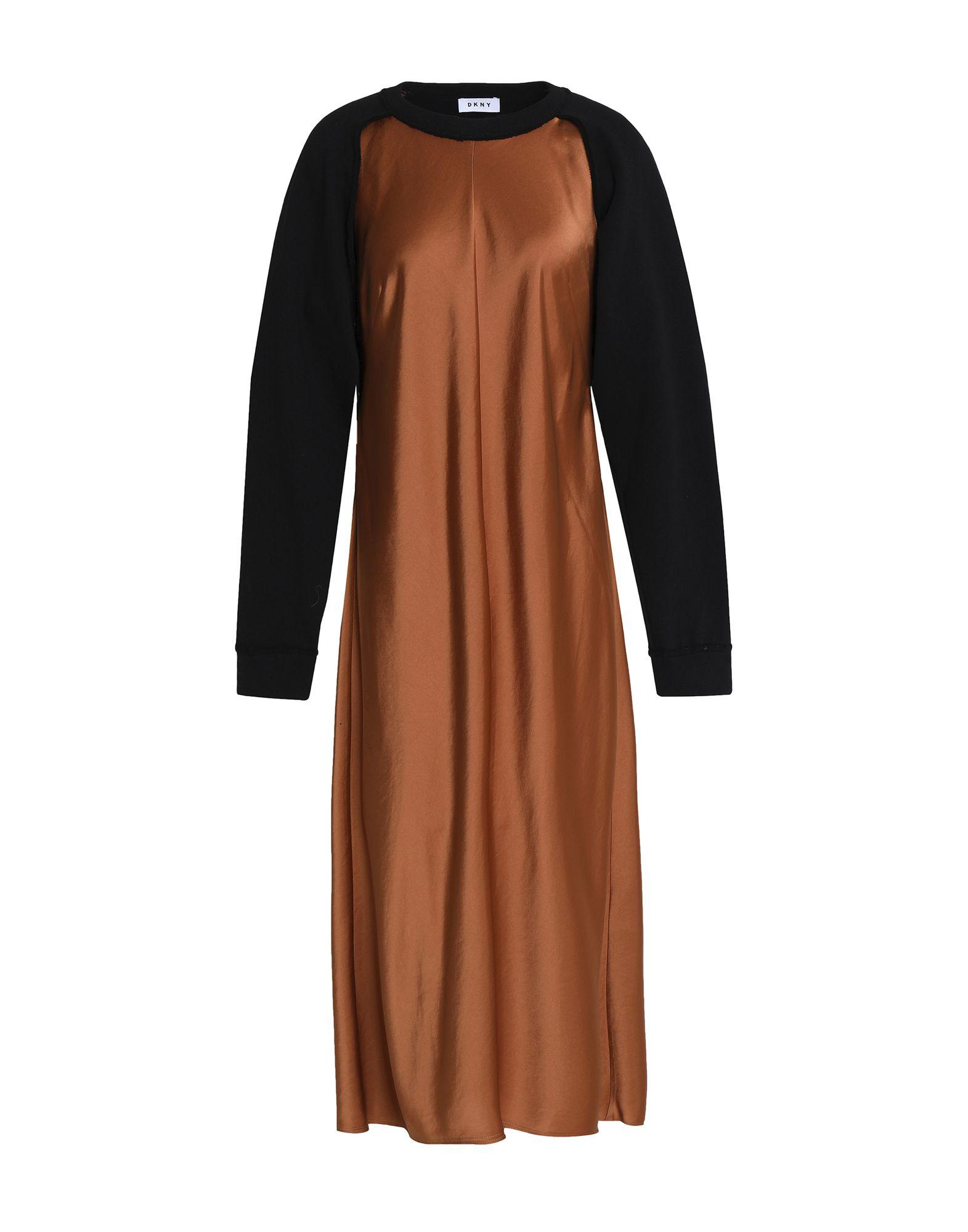 DKNY Платье длиной 3/4 цена 2017