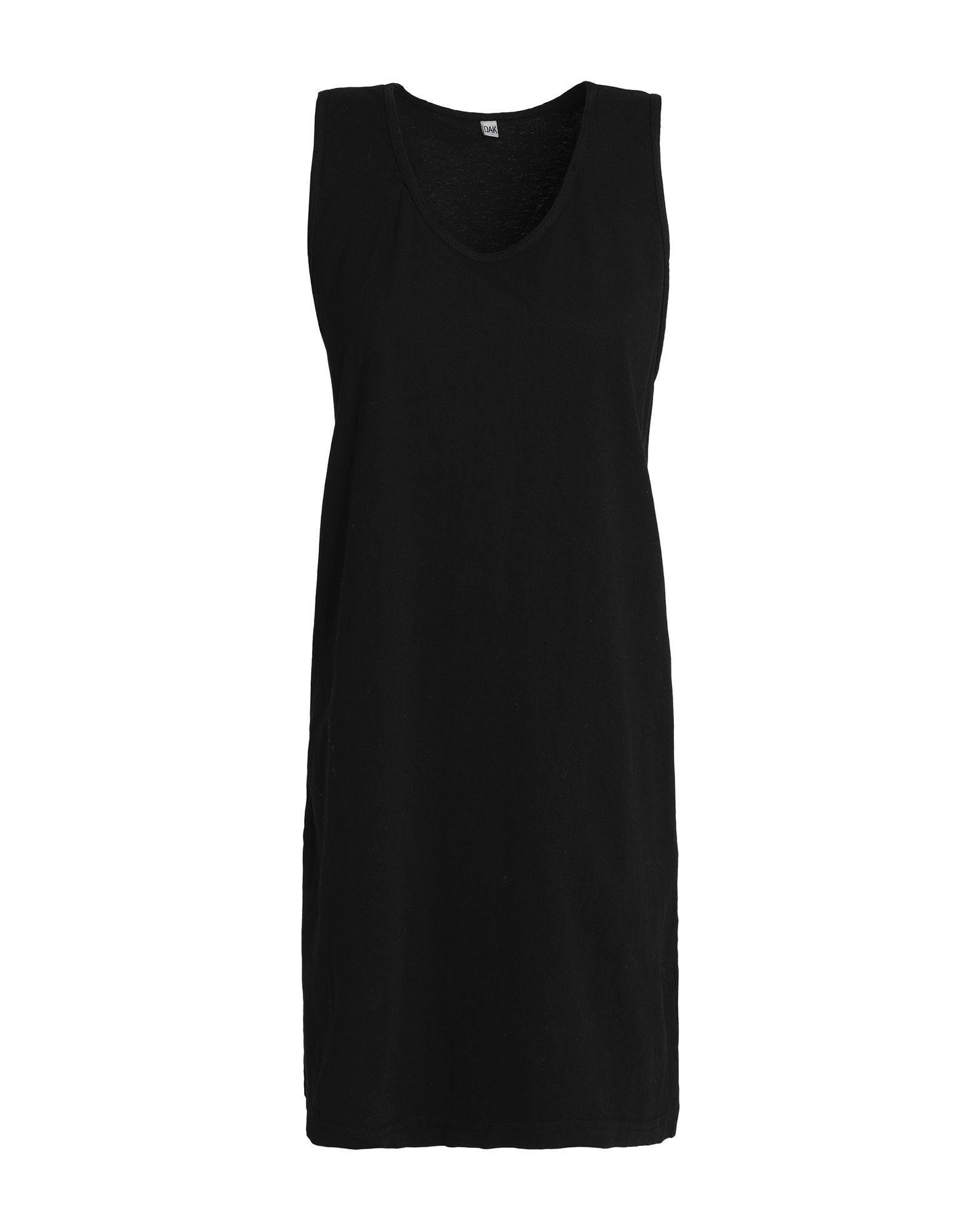 OAK Короткое платье платье короткое с графическим рисунком без рукавов