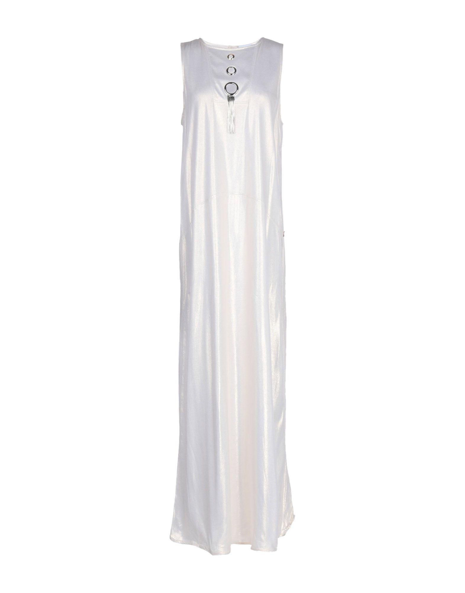 JIJIL Длинное платье платье длинное без рукавов из кружева bina