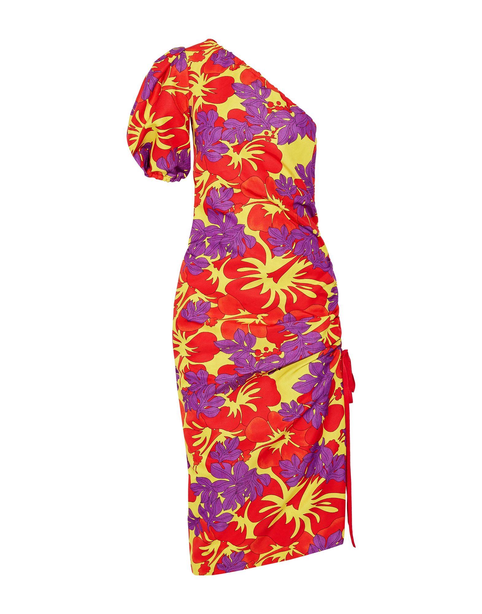 ROSIE ASSOULIN Платье длиной 3/4 малого сексуально женщин от летних моды случайных плечо мини платье