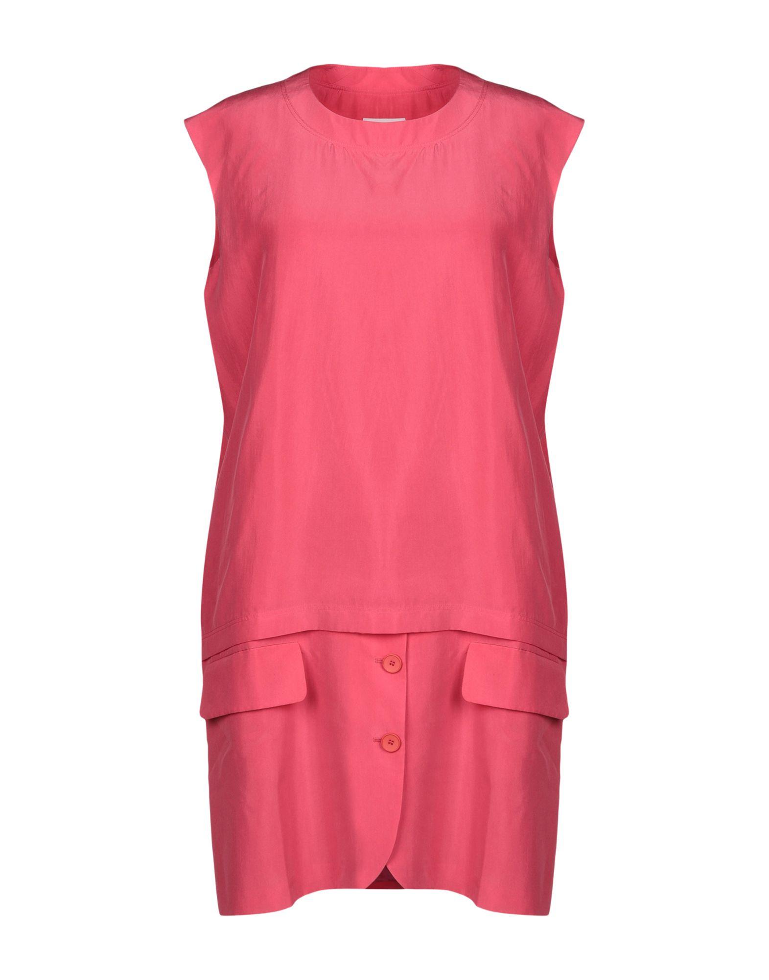 купить MM6 MAISON MARGIELA Короткое платье по цене 23500 рублей