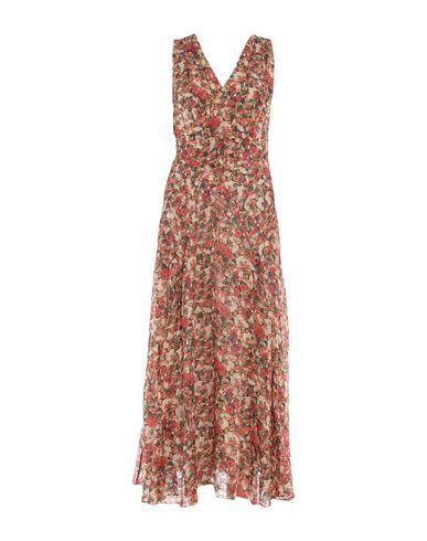 Купить Женское длинное платье  оранжевого цвета