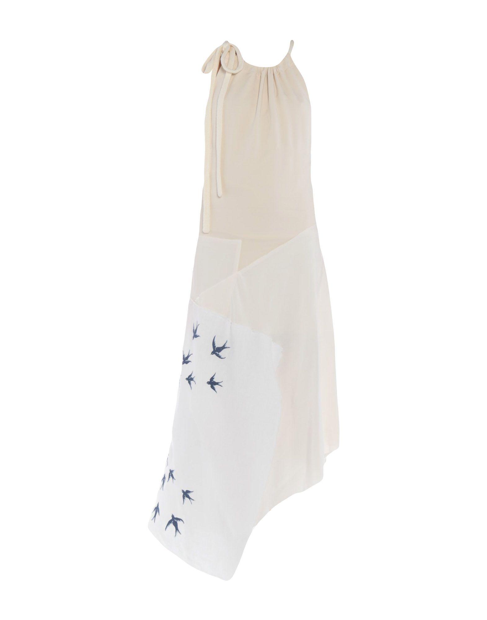 JW ANDERSON Платье миди jw anderson длинное платье