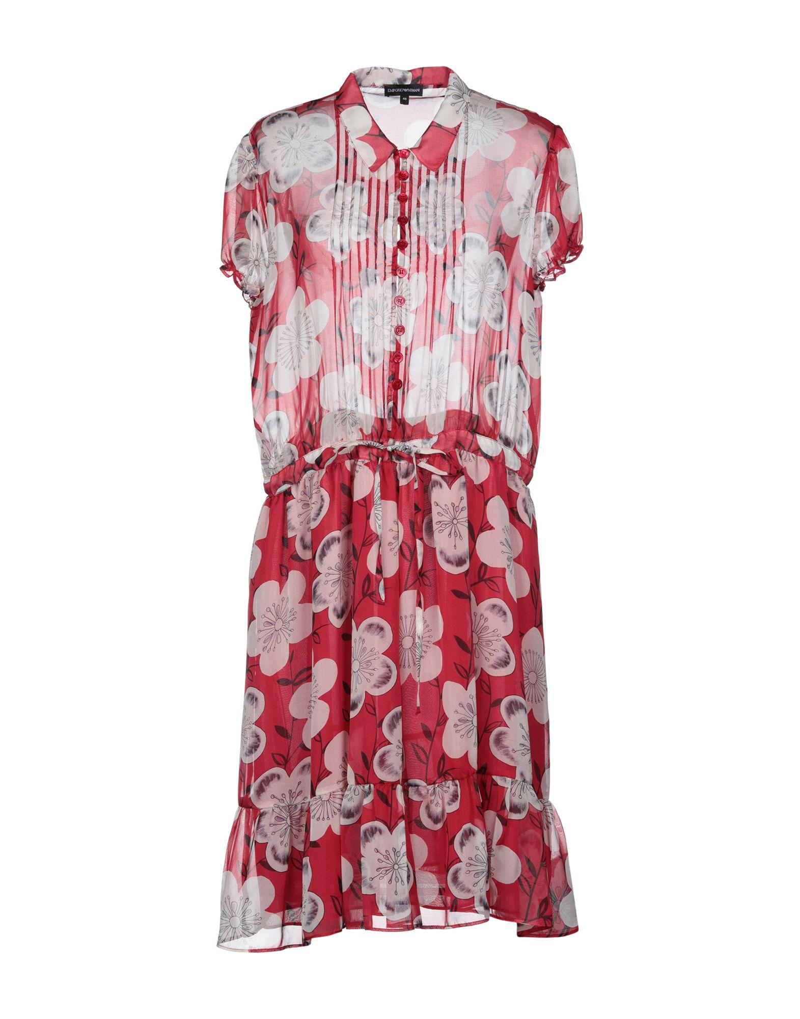 EMPORIO ARMANI Платье до колена цены онлайн