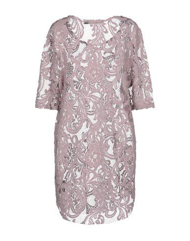 Фото 2 - Женское короткое платье BAD SPIRIT пастельно-розового цвета
