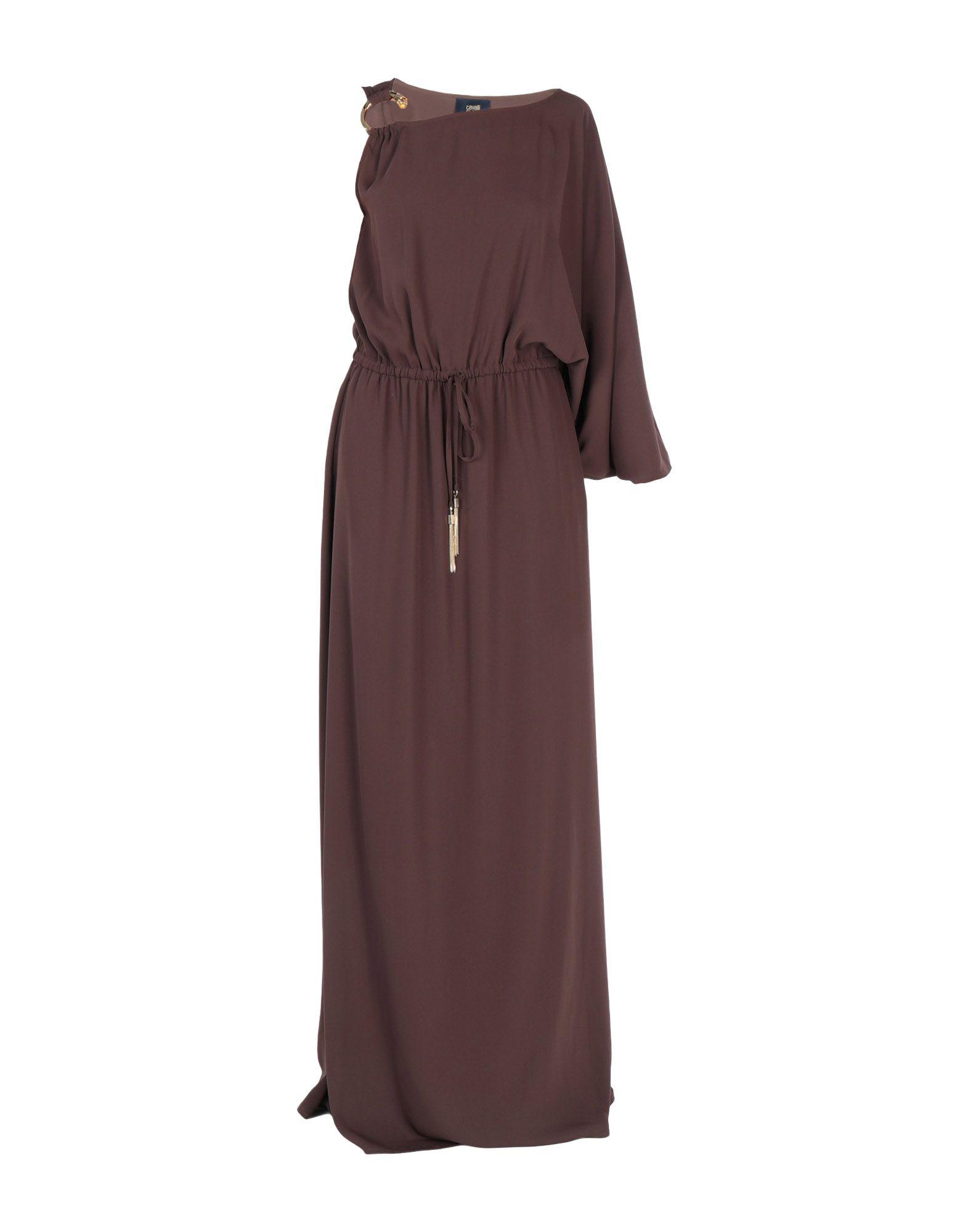 CAVALLI CLASS Длинное платье малого сексуально женщин от летних моды случайных плечо мини платье