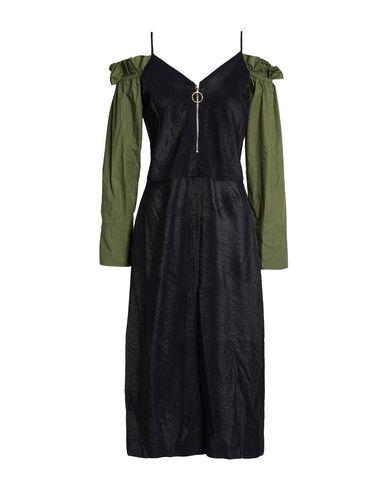Купить Платье длиной 3/4 черного цвета