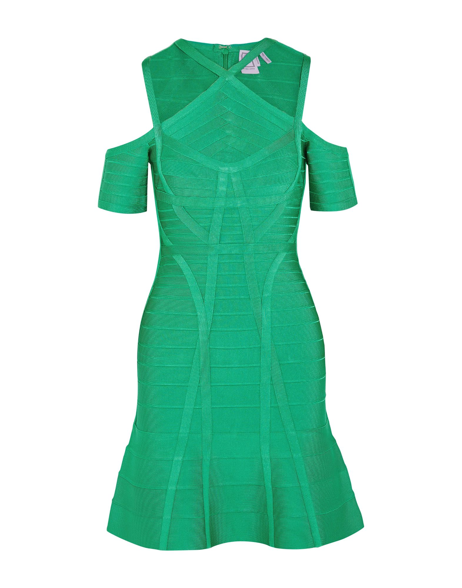HERVÉ LÉGER Короткое платье hervé léger by max azria короткое платье