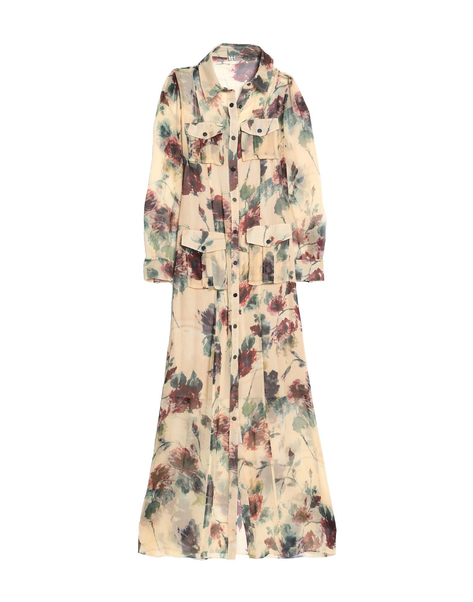 купить HAUTE HIPPIE Длинное платье дешево