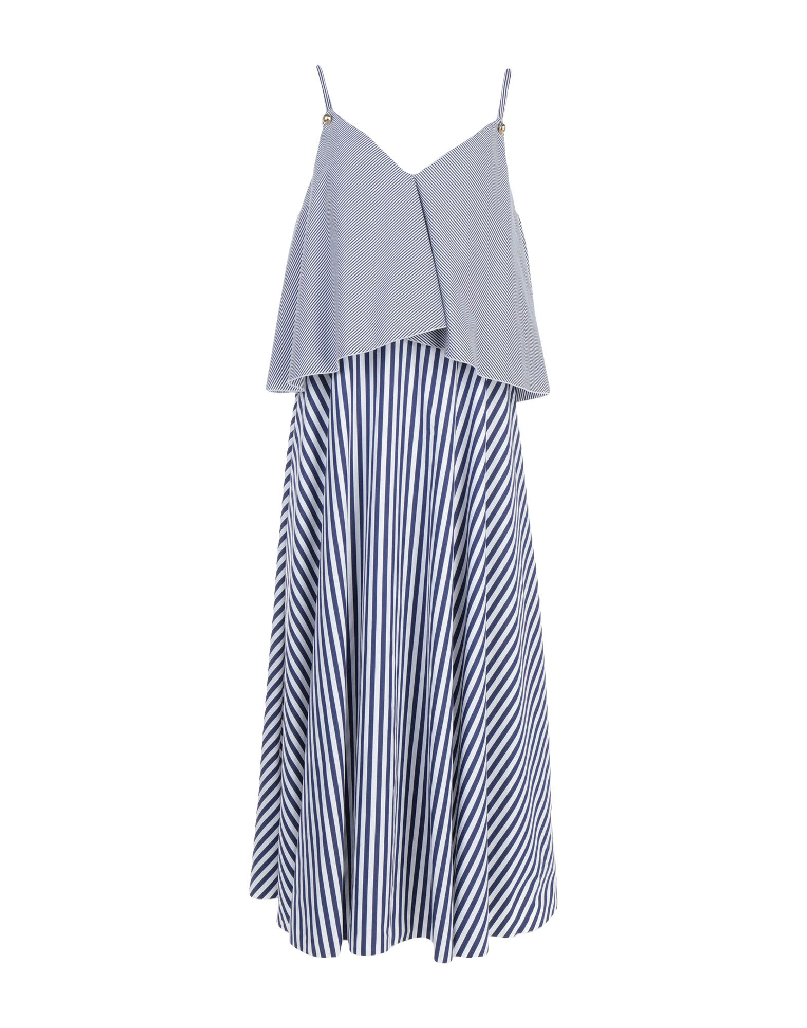 ROSSELLA JARDINI Платье длиной 3/4 rossella carrara топ без рукавов