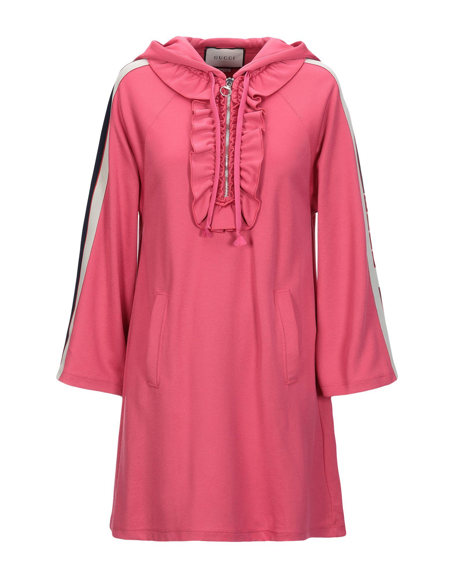 GUCCI Damen Kurzes Kleid Farbe Fuchsia Größe 3