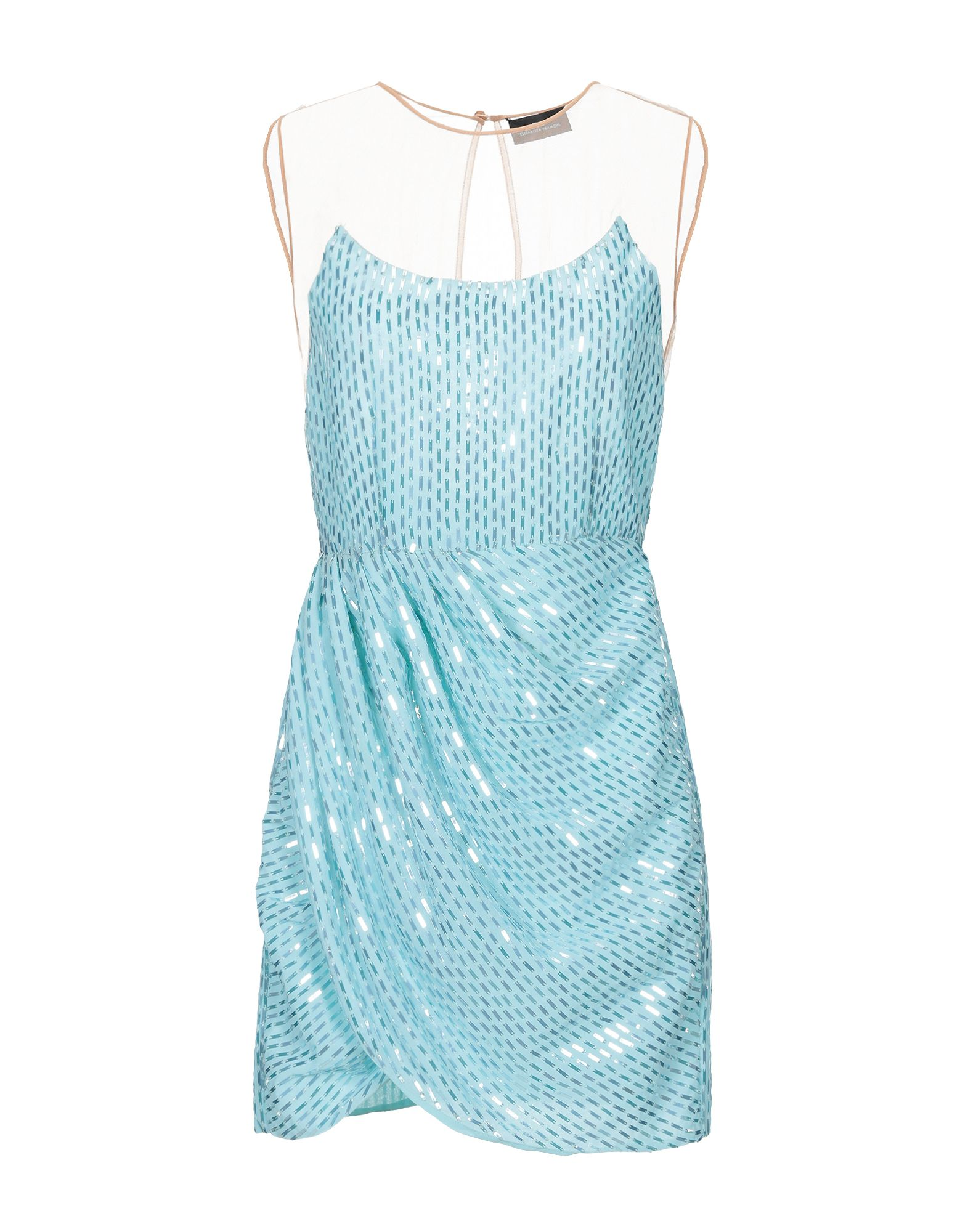 ELISABETTA FRANCHI Короткое платье elisabetta franchi 24 ore короткое платье