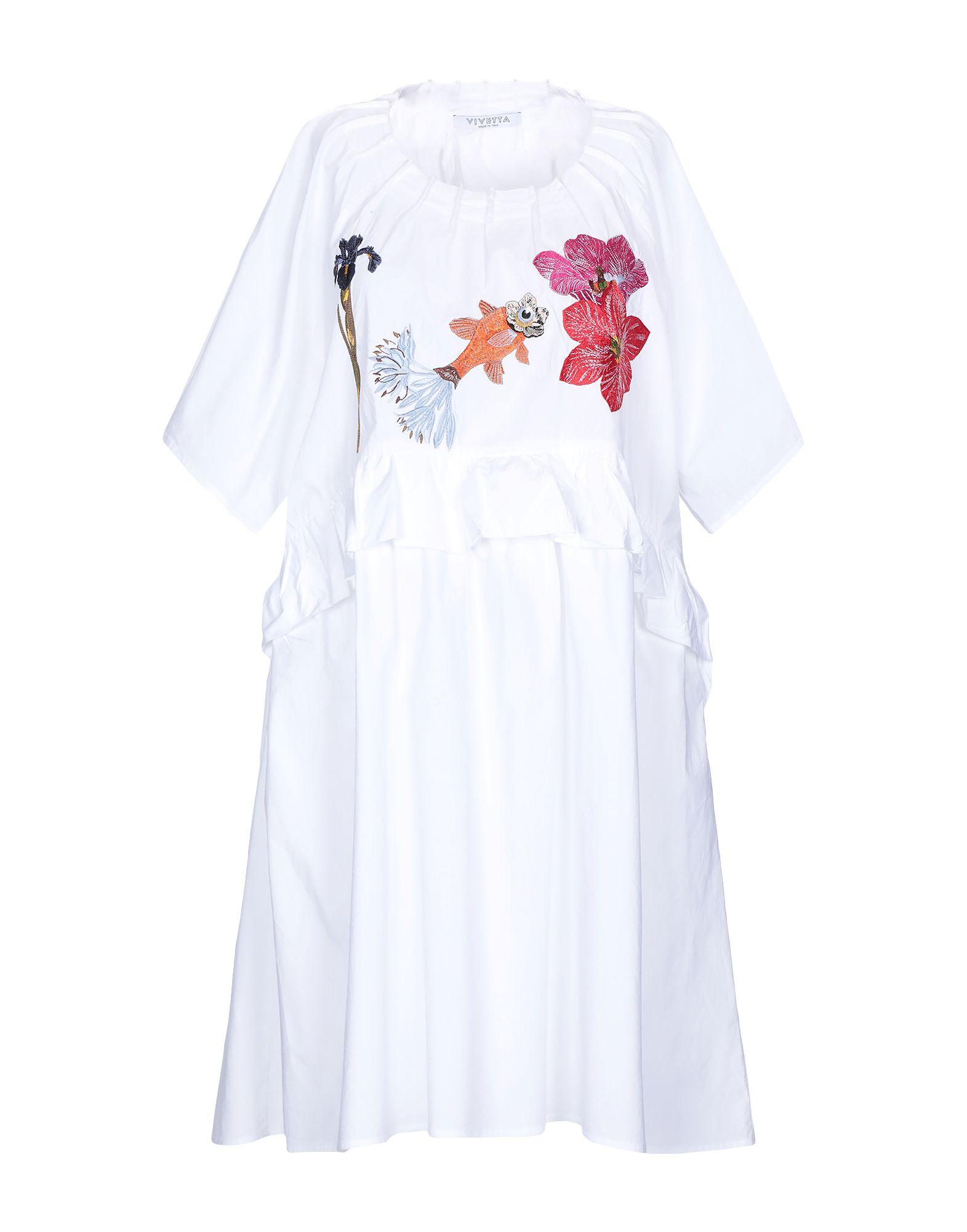 VIVETTA Короткое платье vivetta pубашка