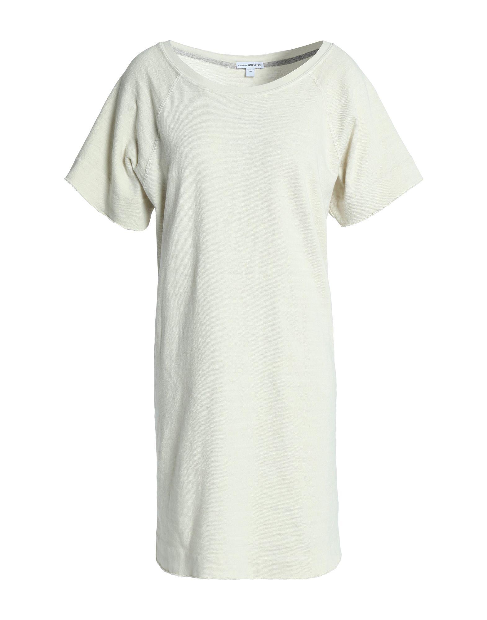 JAMES PERSE Короткое платье james perse белая майка из хлопка