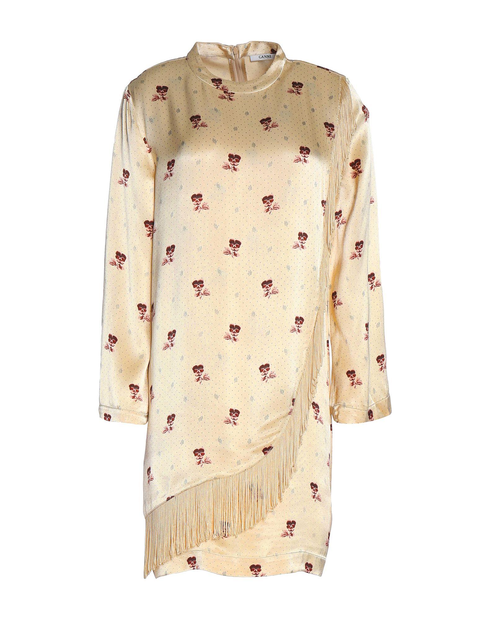 Фото - GANNI Короткое платье ganni мини юбка