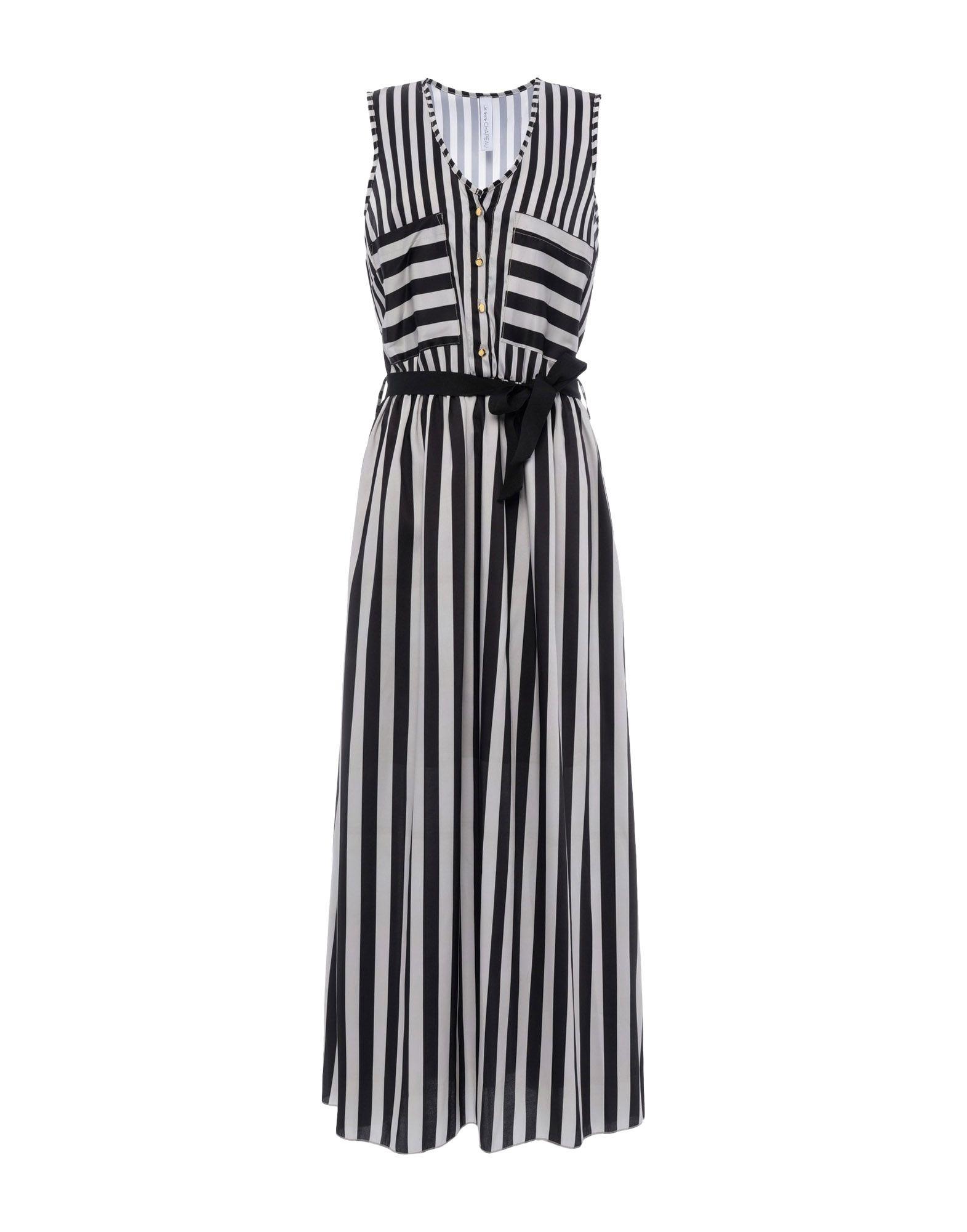 《送料無料》JE SUIS CHAPEAU レディース ロングワンピース&ドレス ブラック S ポリエステル 100%