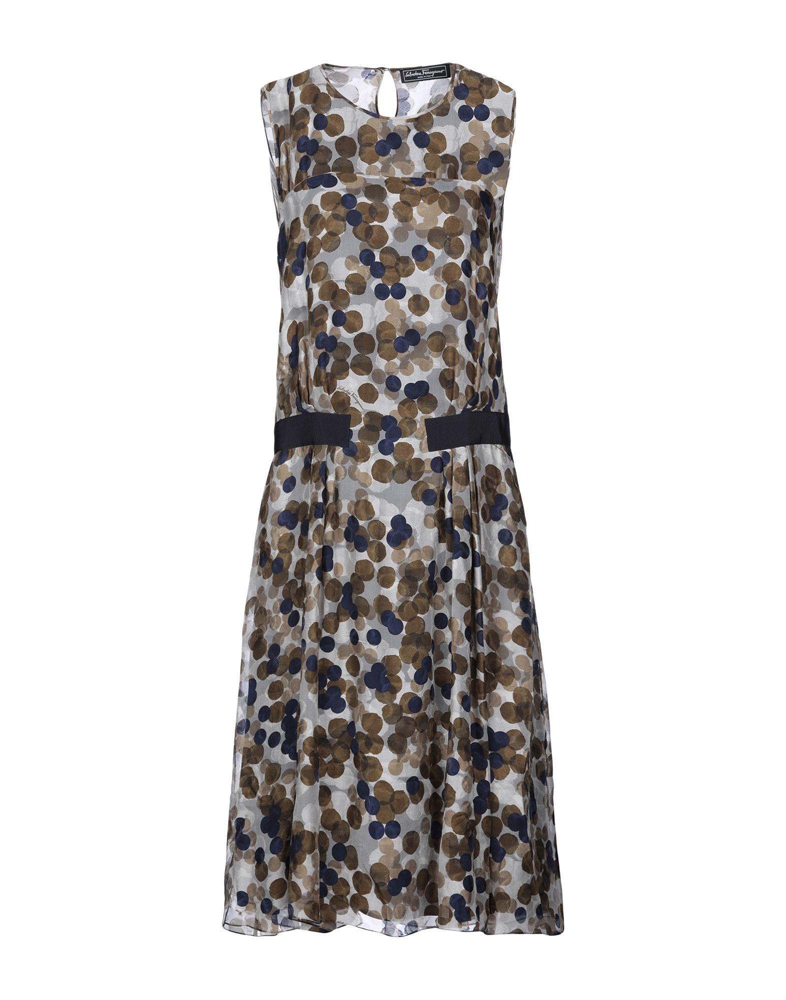 купить SALVATORE FERRAGAMO Платье до колена по цене 48000 рублей