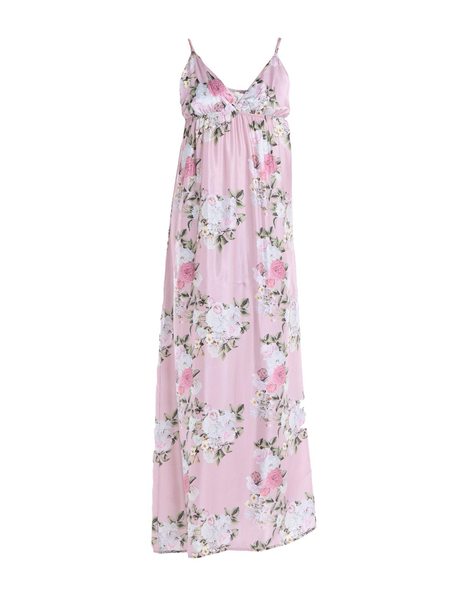 Фото - PINK MEMORIES Длинное платье pink memories шаль