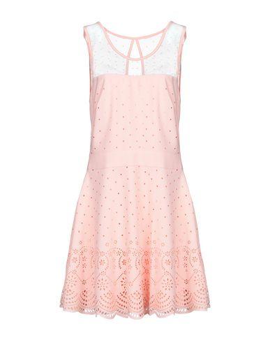 Купить Женское короткое платье MOLLY BRACKEN лососево-розового цвета
