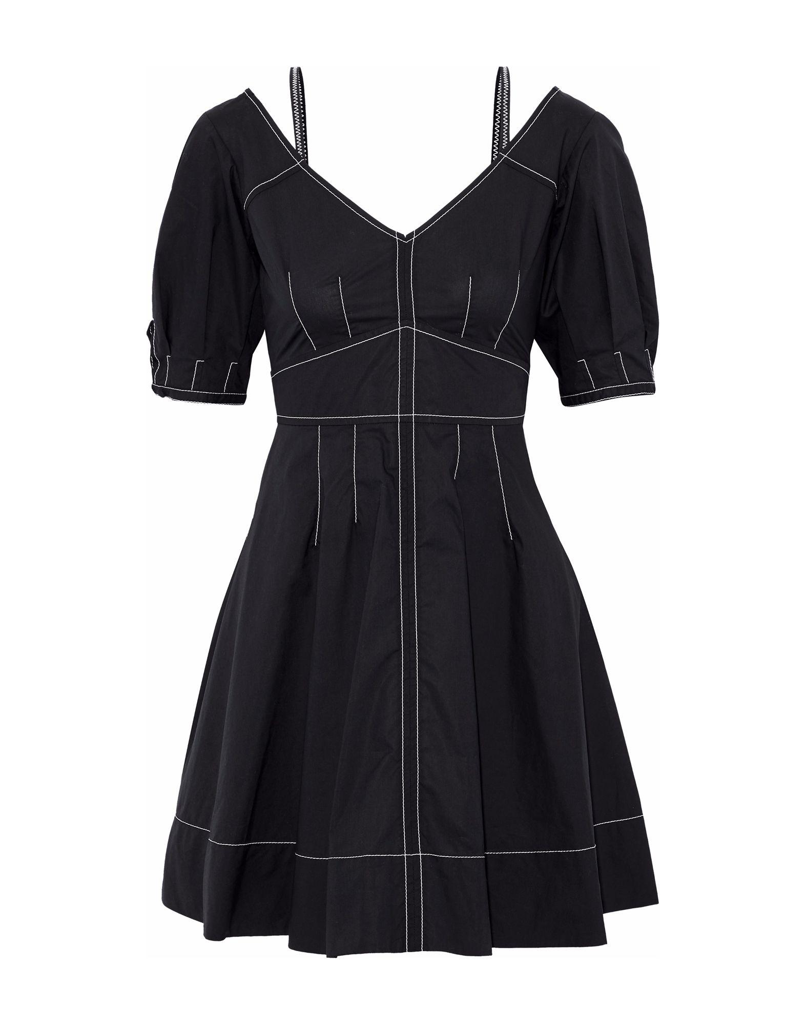 купить DEREK LAM 10 CROSBY Короткое платье по цене 20000 рублей