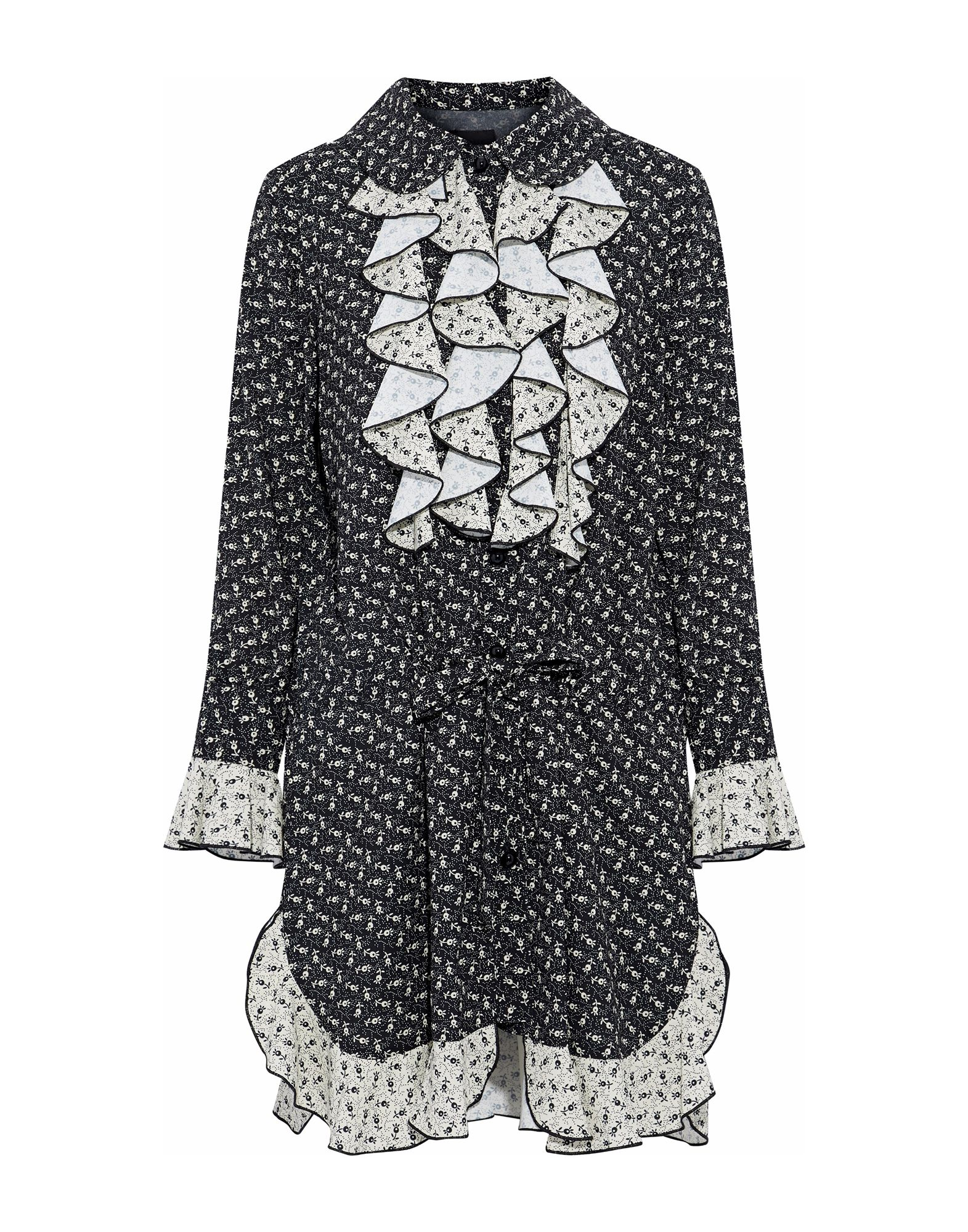 ANNA SUI Короткое платье джордж локхард de sui