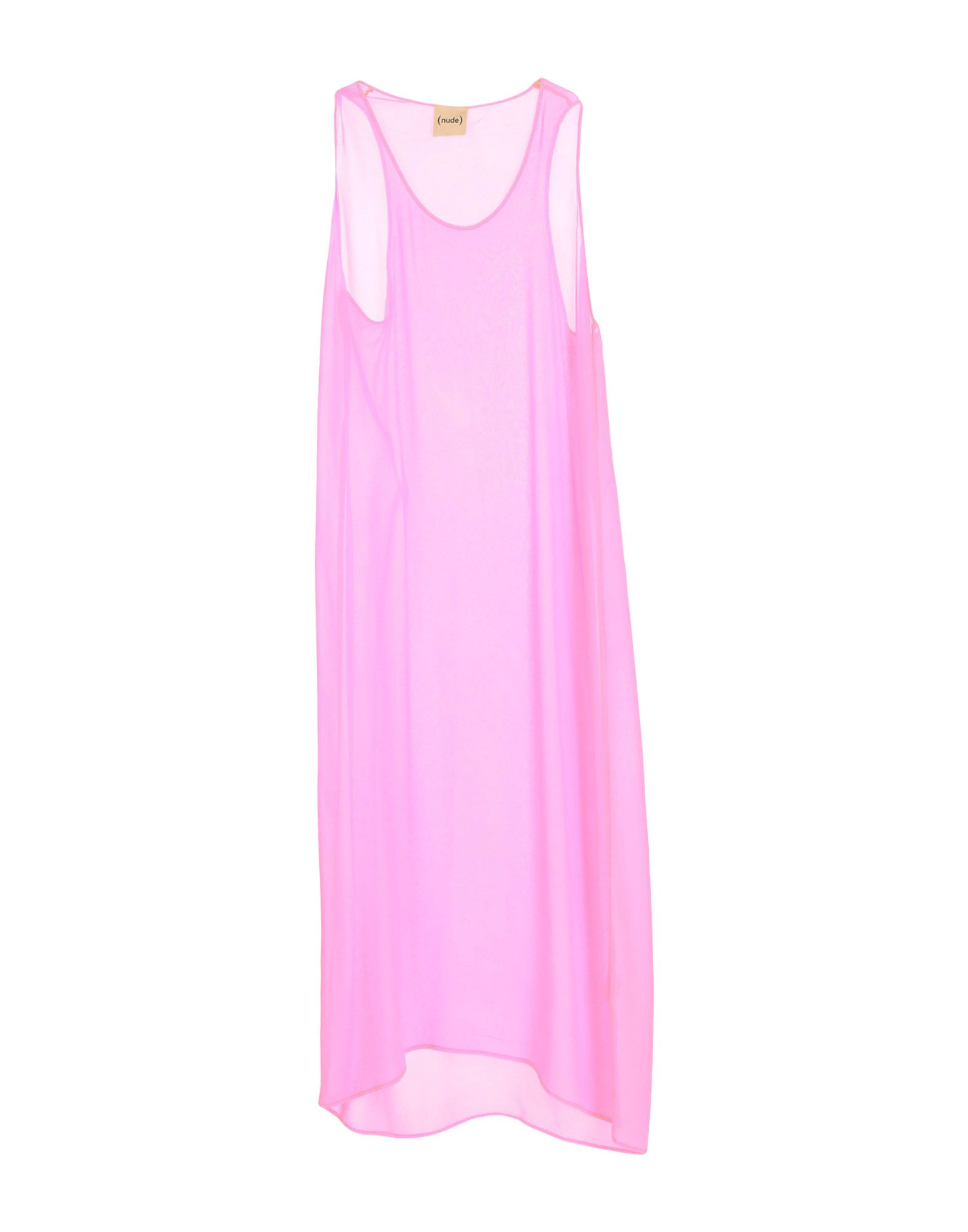 NUDE Платье длиной 3/4 юбка nude разноцветный