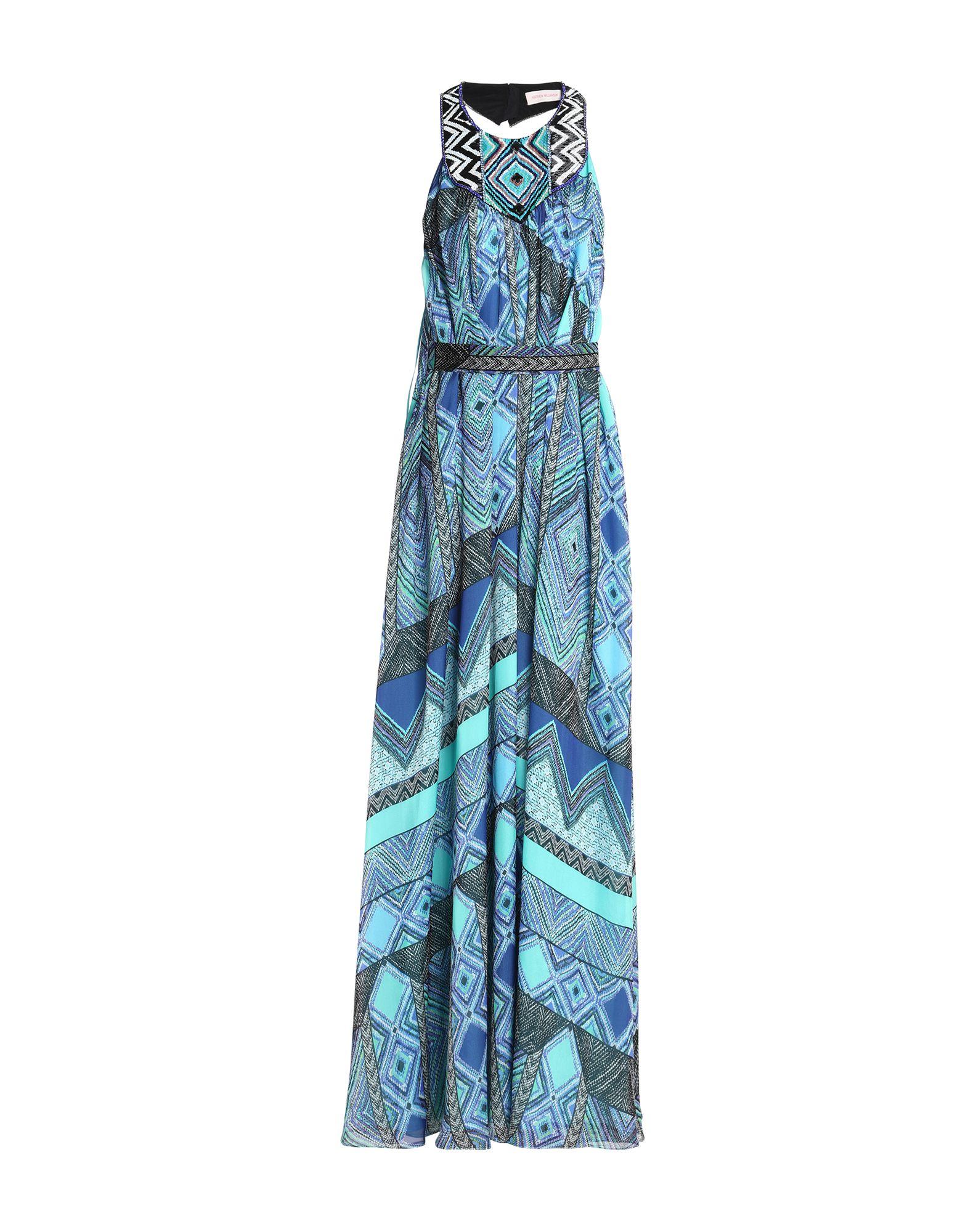 купить MATTHEW WILLIAMSON Длинное платье по цене 43700 рублей