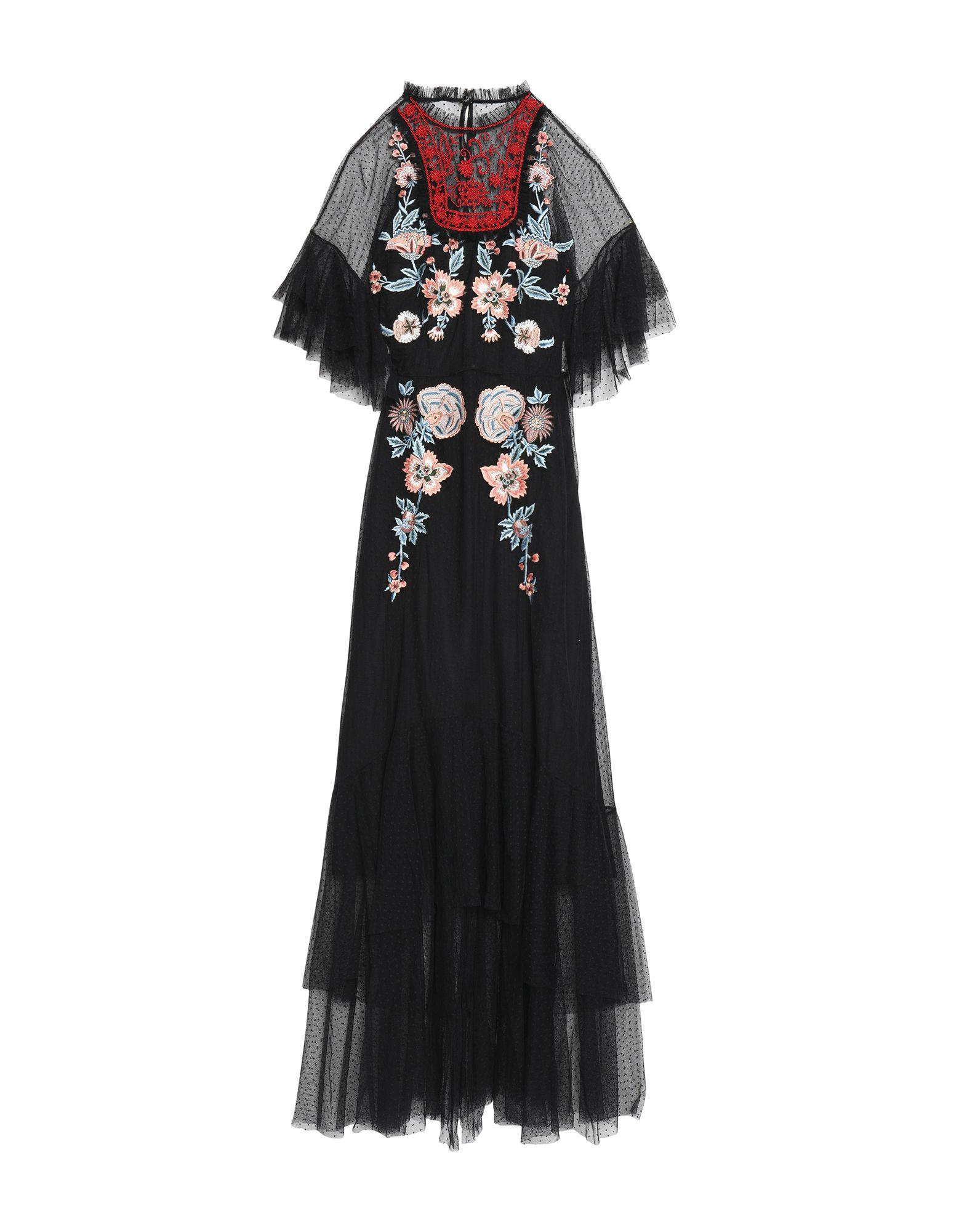 SACHIN & BABI Длинное платье цена 2017