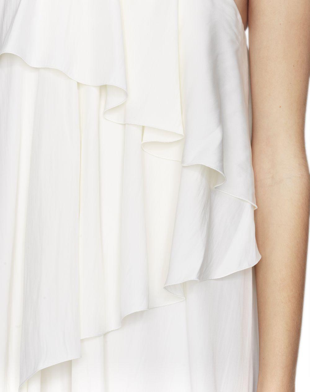 IVORY ASYMMETRICAL DRESS - Lanvin