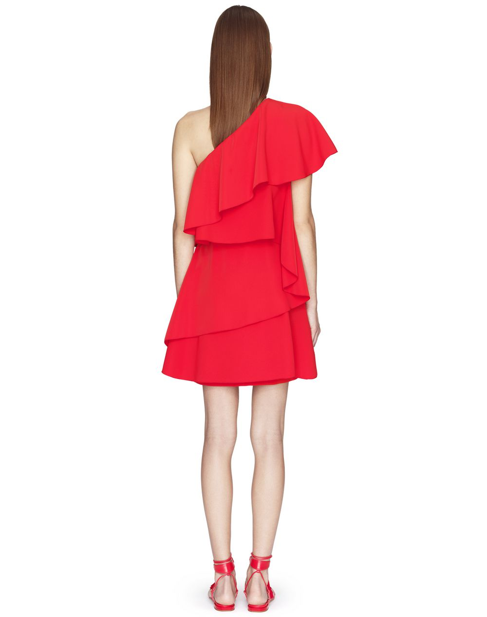 POPPY ASYMMETRICAL DRESS  - Lanvin